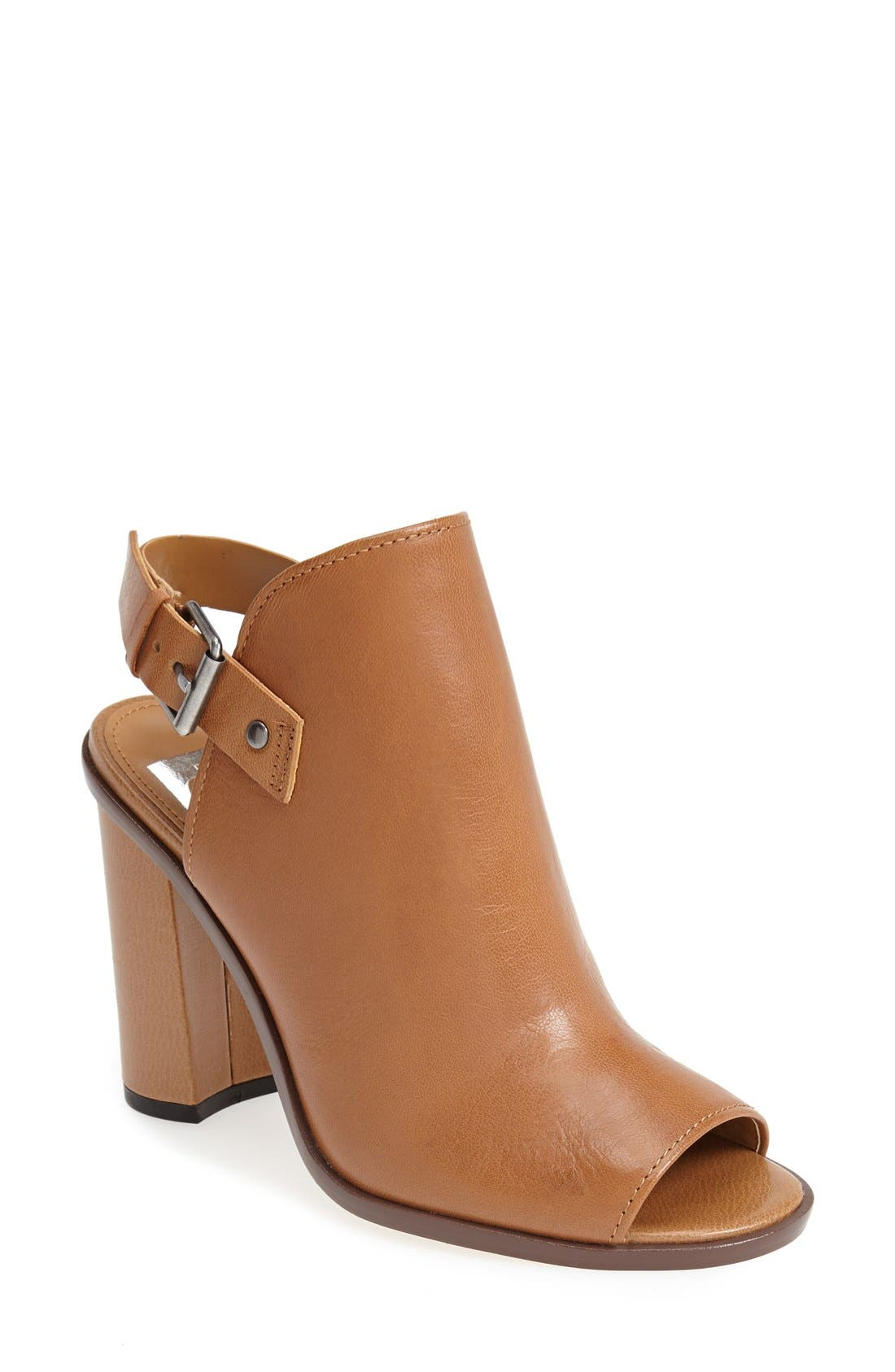 ,                             'Whitney' Peep Toe Bootie,                             Main thumbnail 5, color,                             249