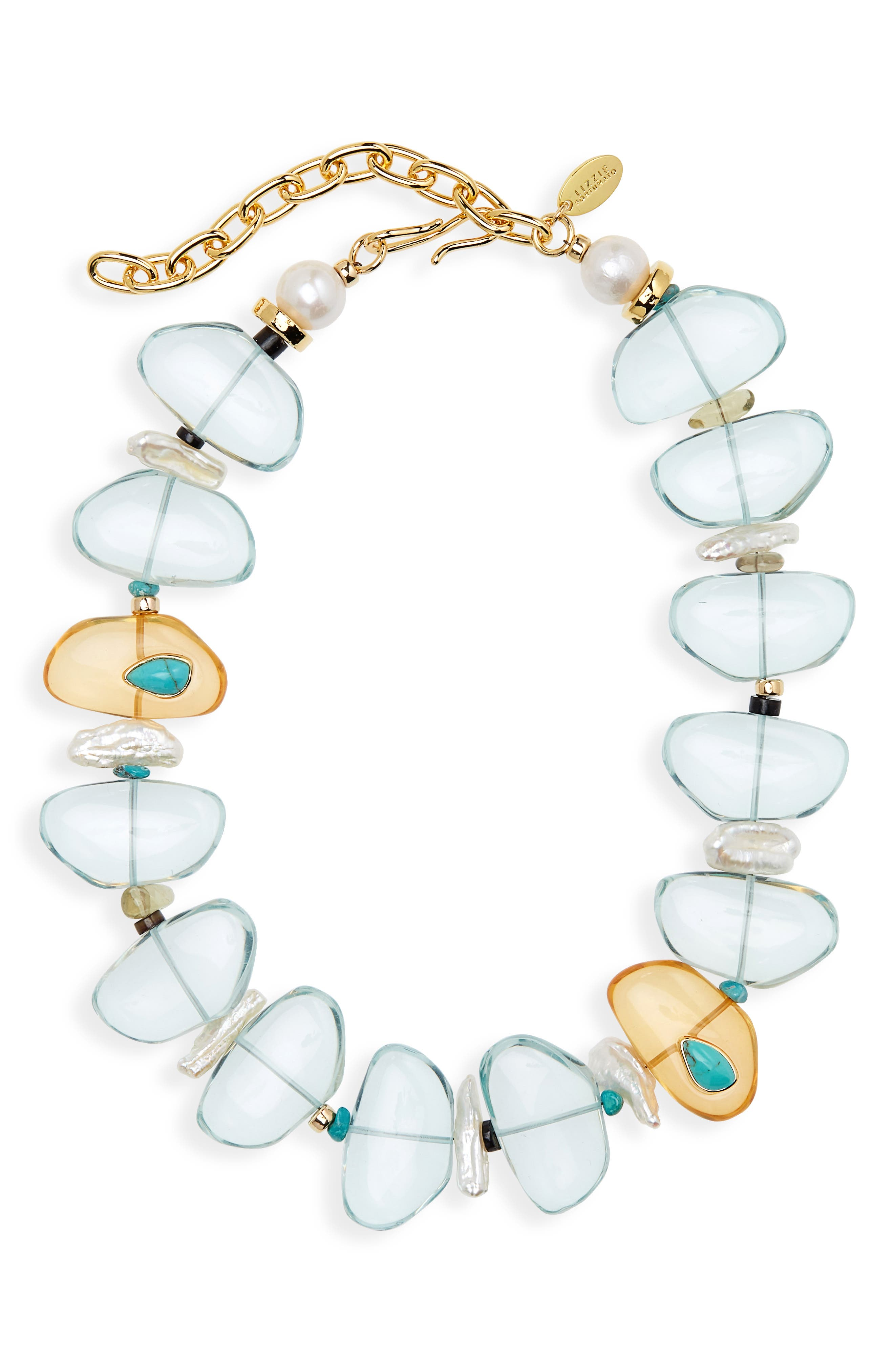 Desert Pass Beaded Necklace