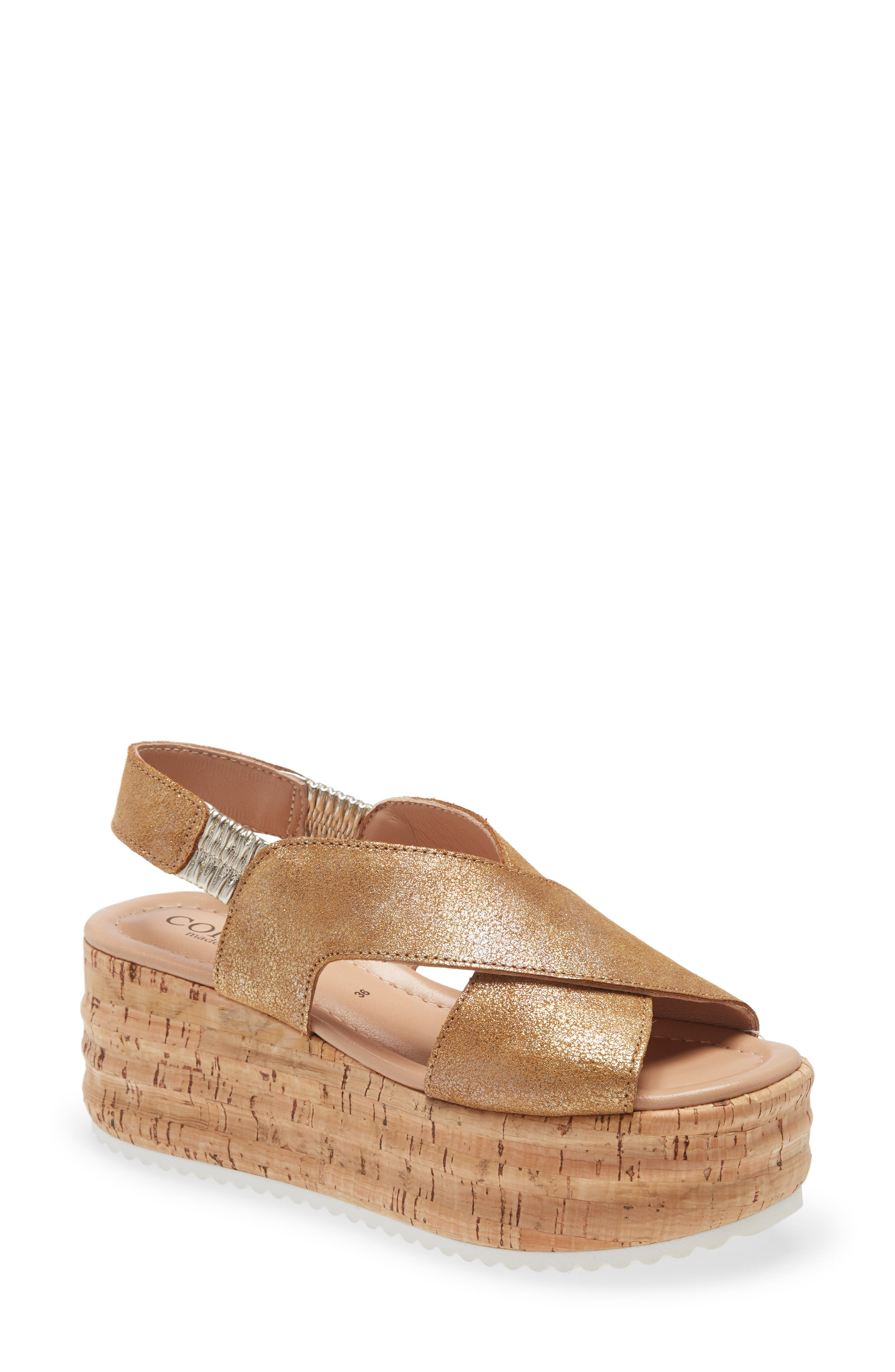 Yarrow Platform Sandal