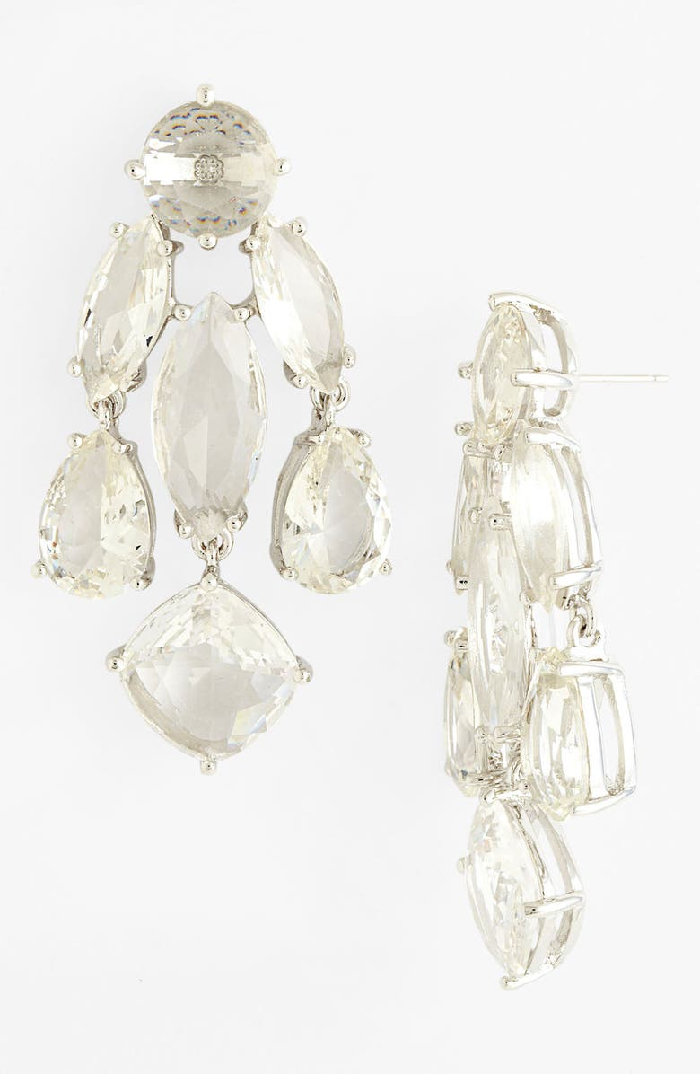 KATE SPADE NEW YORK statement chandelier earrings, Main, color, 040