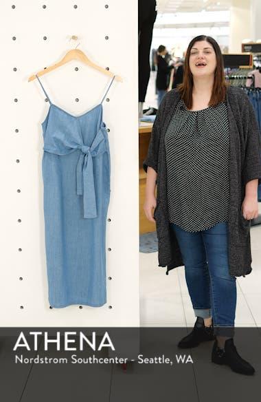 Tie Denim Midi Dress, sales video thumbnail