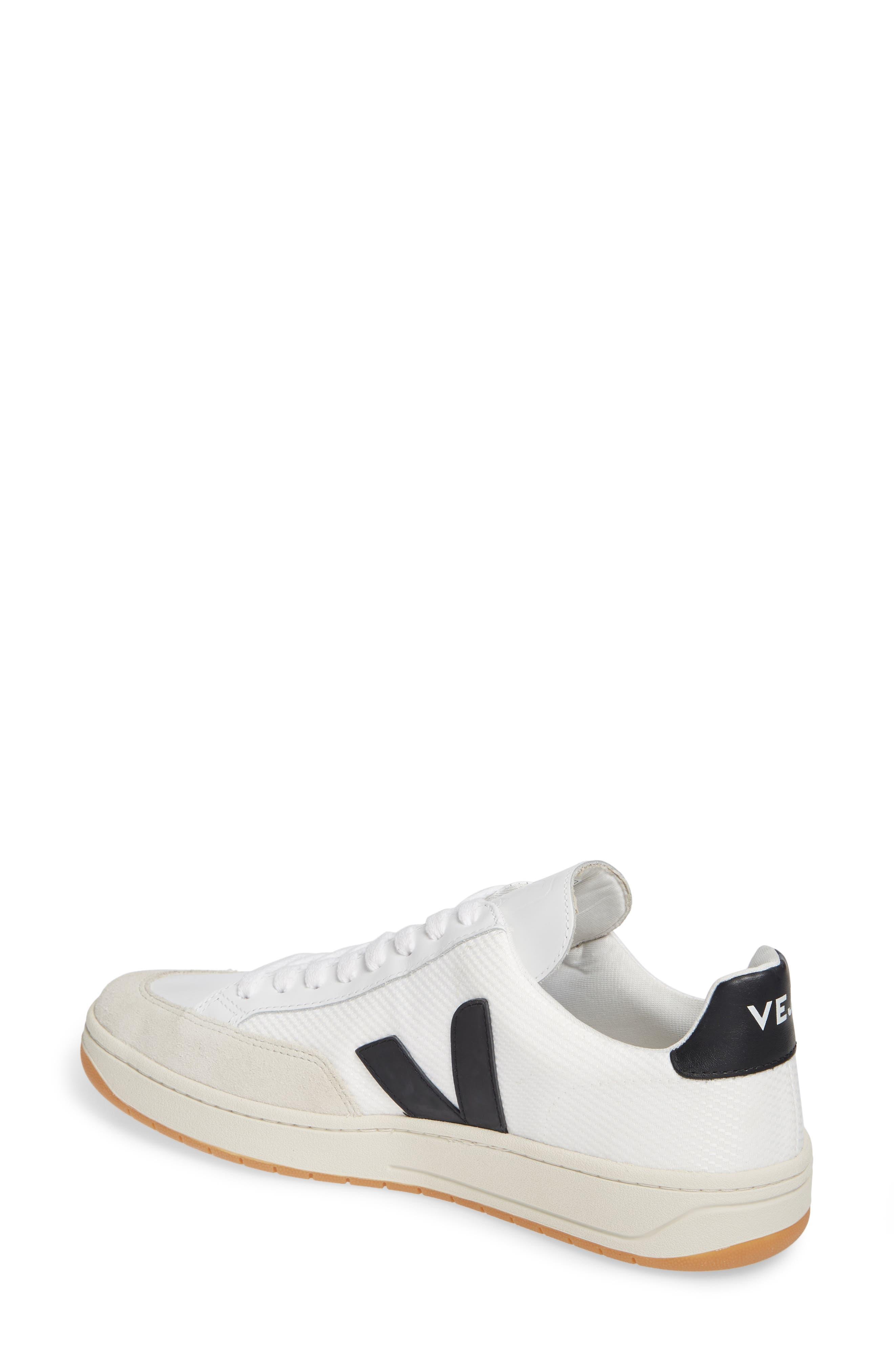 ,                             V-12 Sneaker,                             Alternate thumbnail 2, color,                             WHITE BLACK