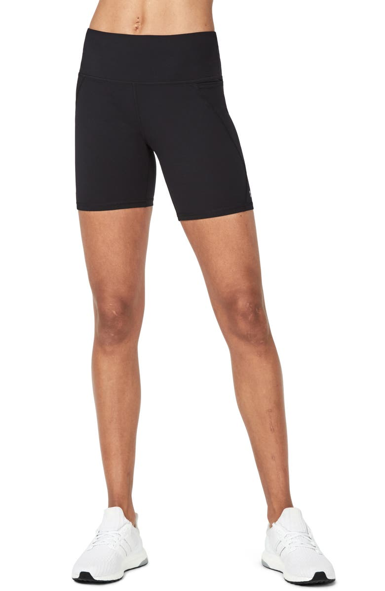 SWEATY BETTY Power Workout Bike Shorts, Main, color, 001