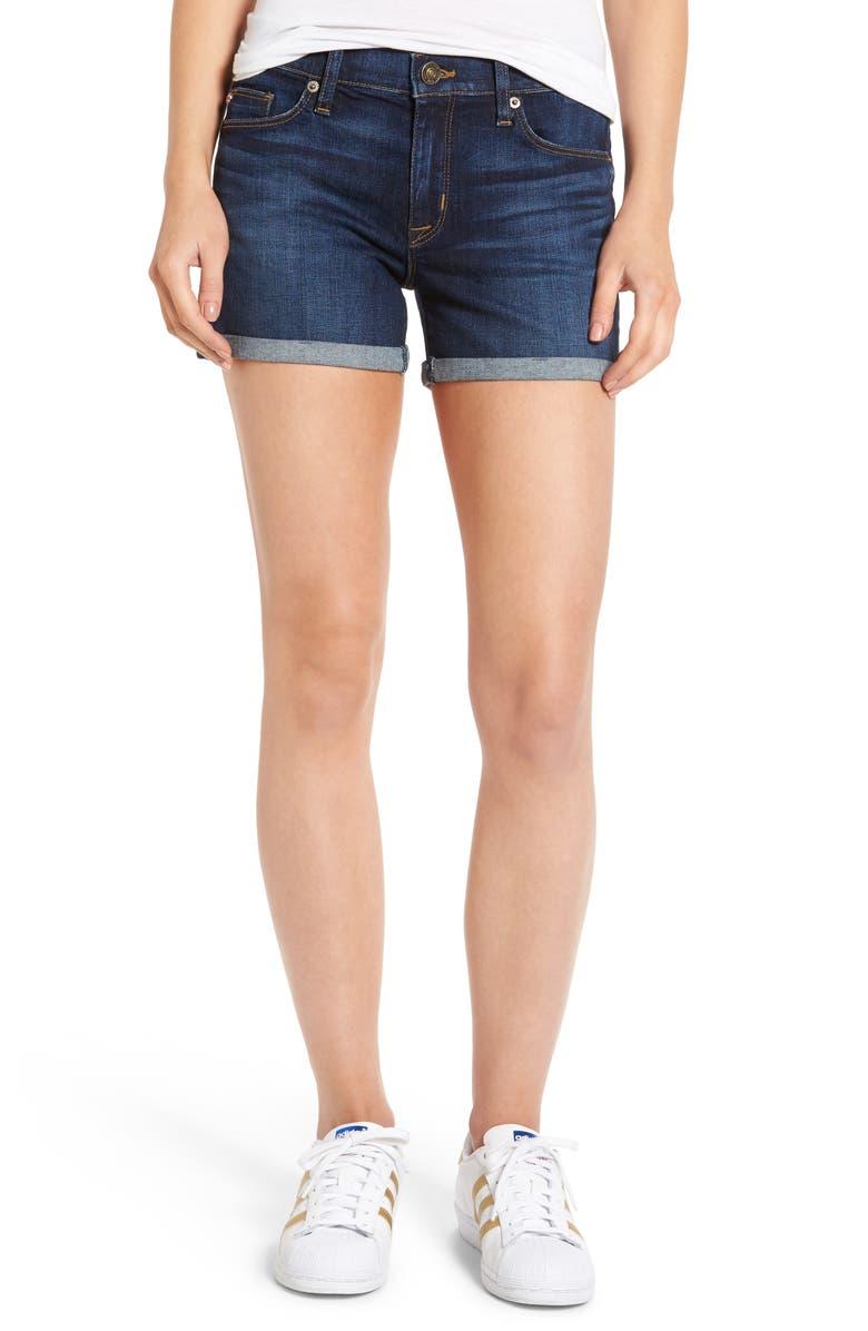 HUDSON JEANS Asha Denim Shorts, Main, color, 401