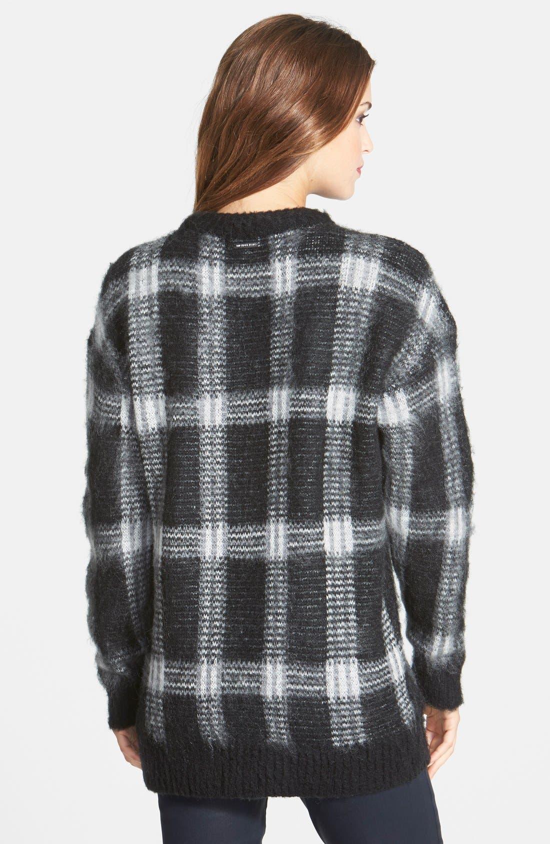 ,                             Plaid Crewneck Sweater,                             Alternate thumbnail 11, color,                             036