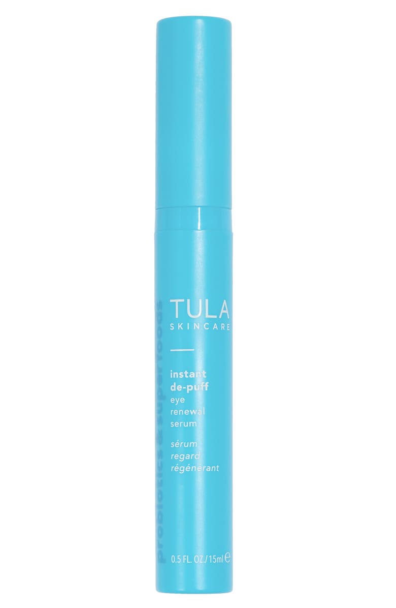 TULA PROBIOTIC SKINCARE Instant De-Puff Eye Renewal Serum, Main, color, NO COLOR