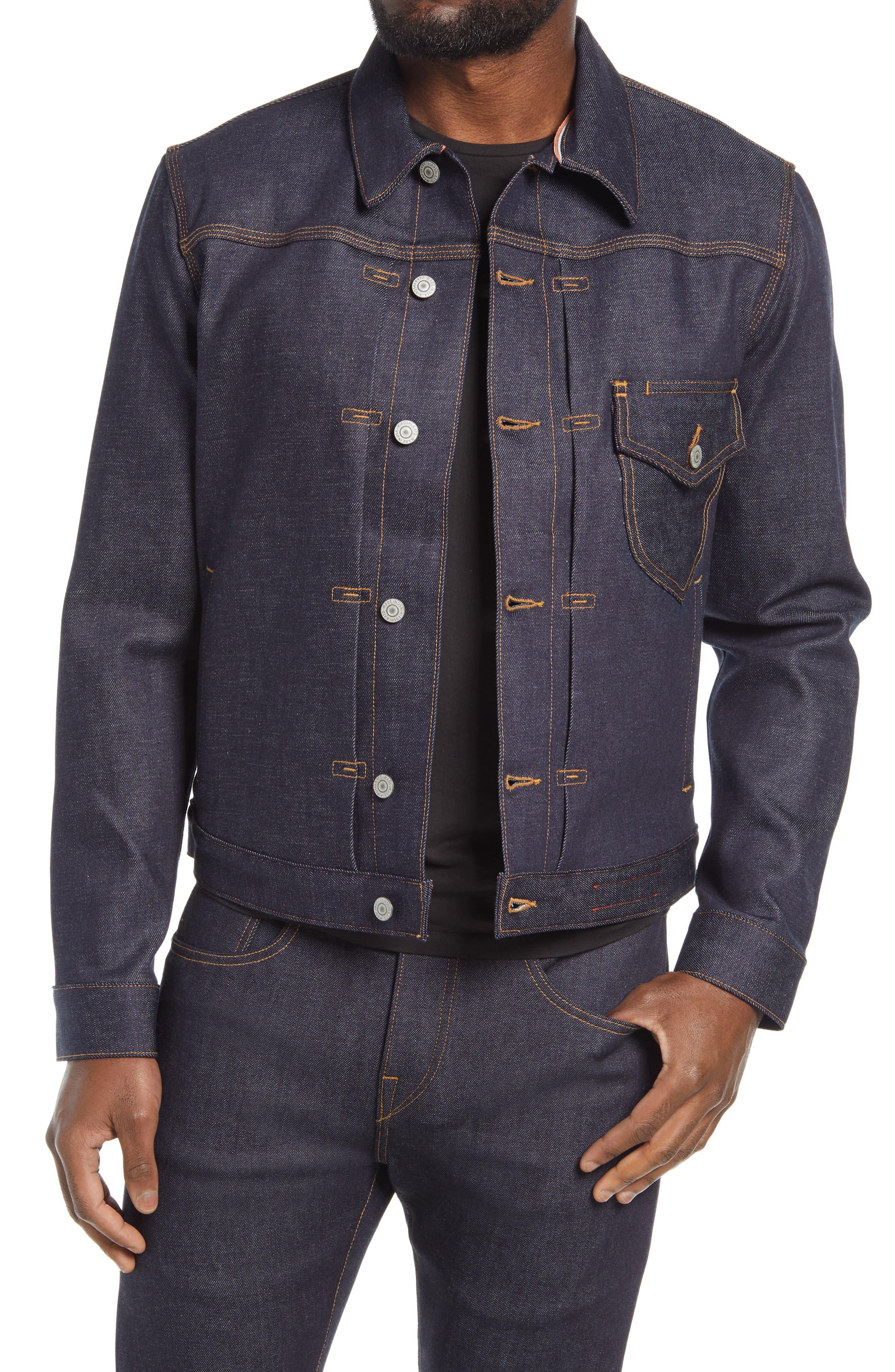 Stretch Button-Up Jacket
