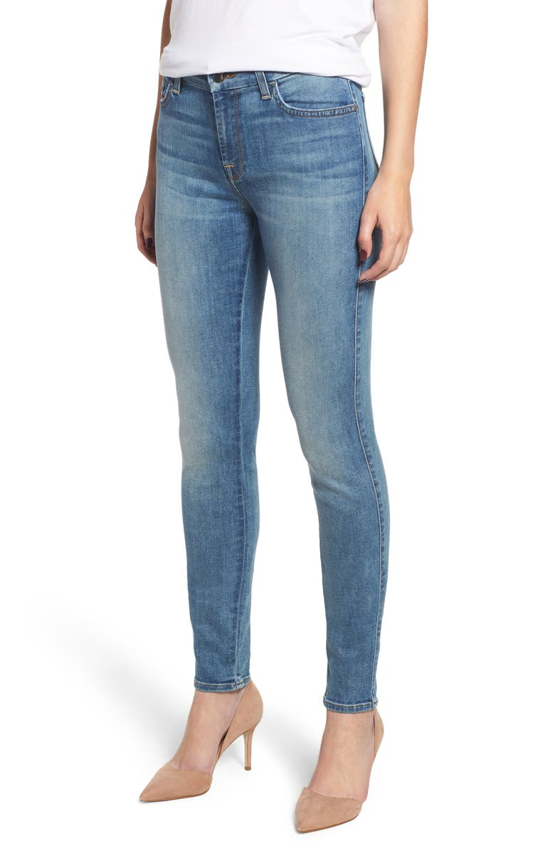 JEN7 BY 7 FOR ALL MANKIND Skinny Jeans, Main, color, 401