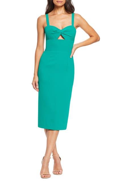Image of Dress the Population Twist Front Midi Dress