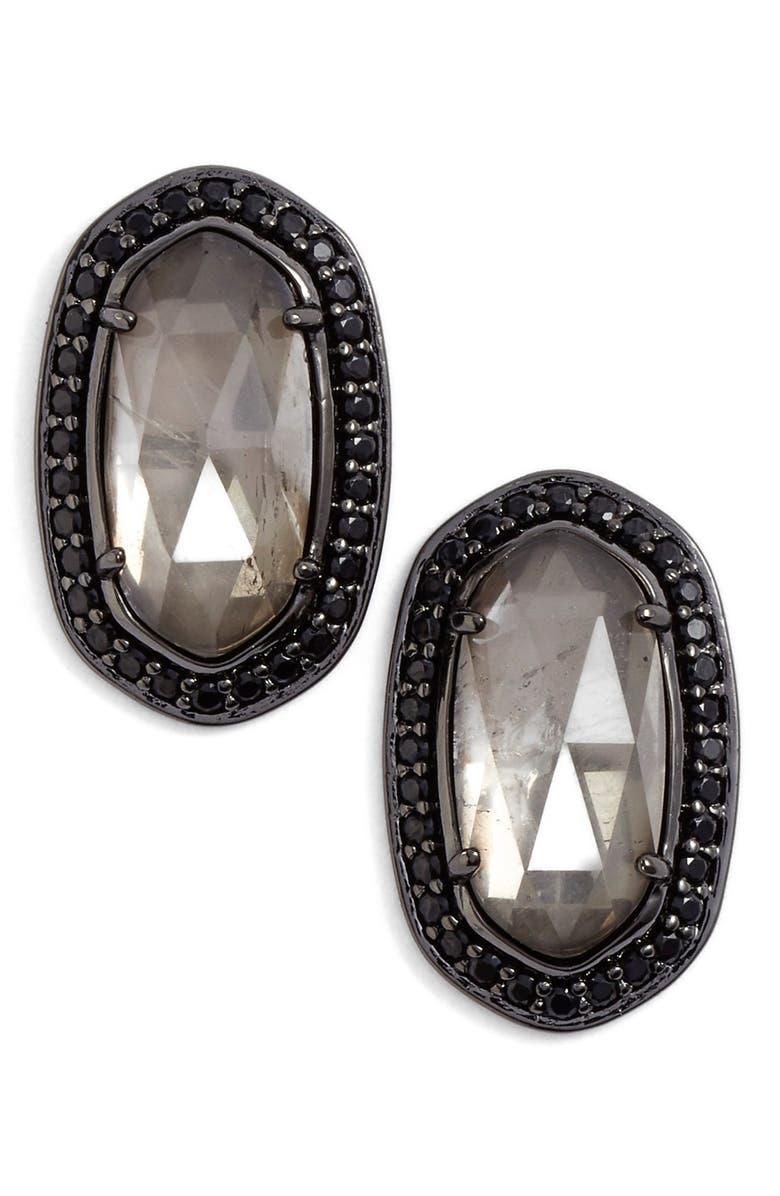 KENDRA SCOTT 'Elaine' Stud Earrings, Main, color, 020