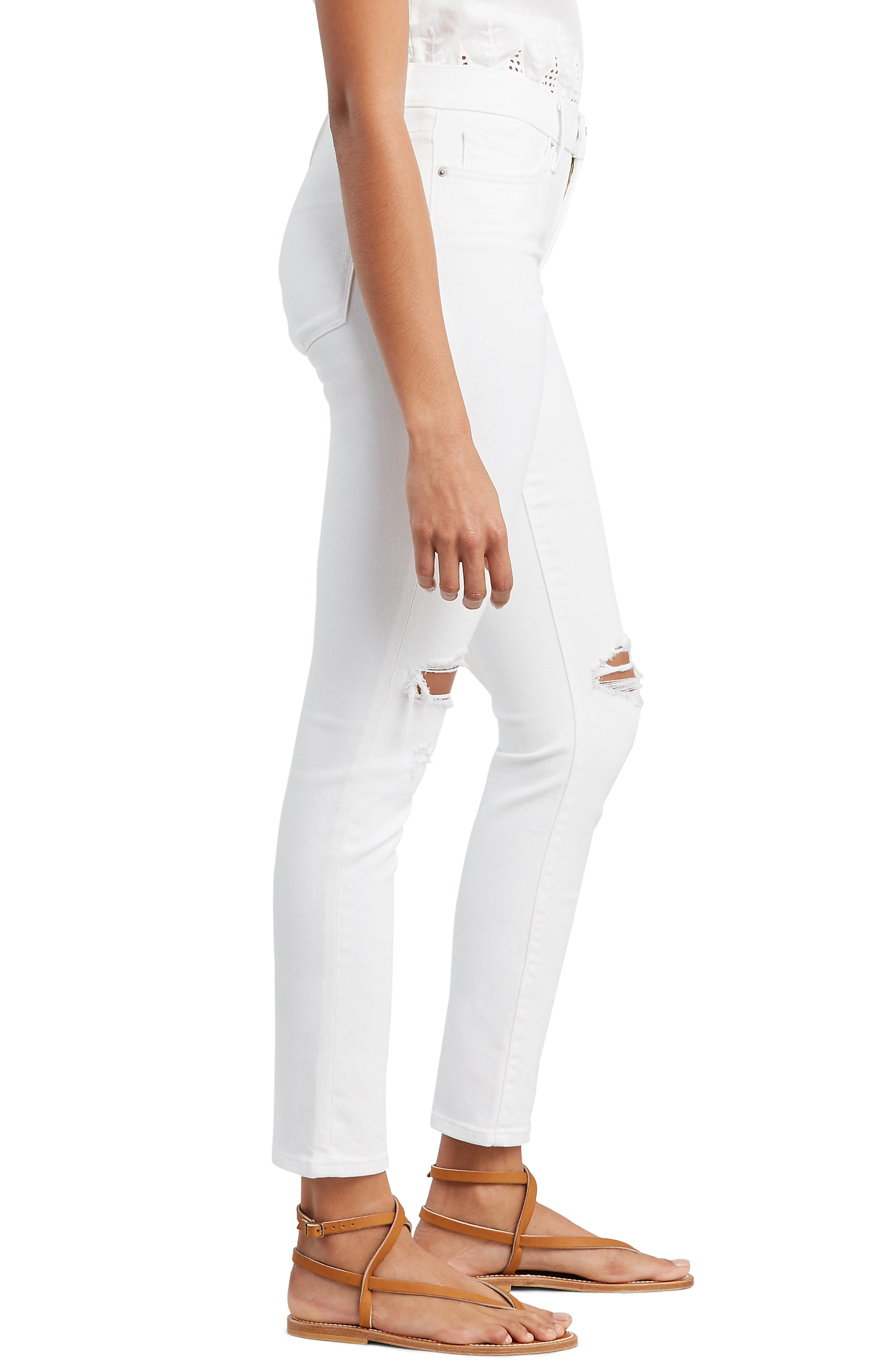 ,                             311<sup>™</sup> Shaping Skinny Jeans,                             Alternate thumbnail 4, color,                             WHITE SLATE