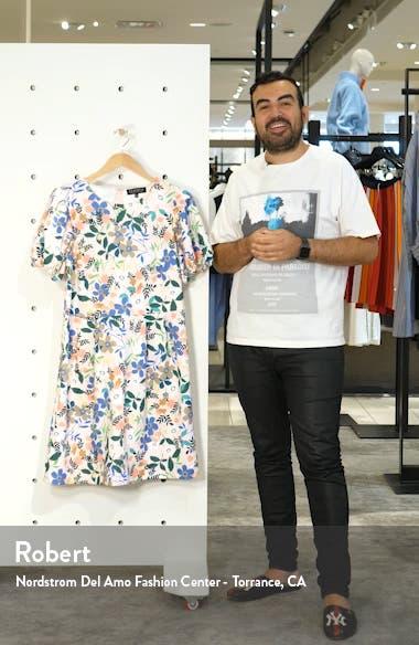 Puff Sleeve Sheath Dress, sales video thumbnail