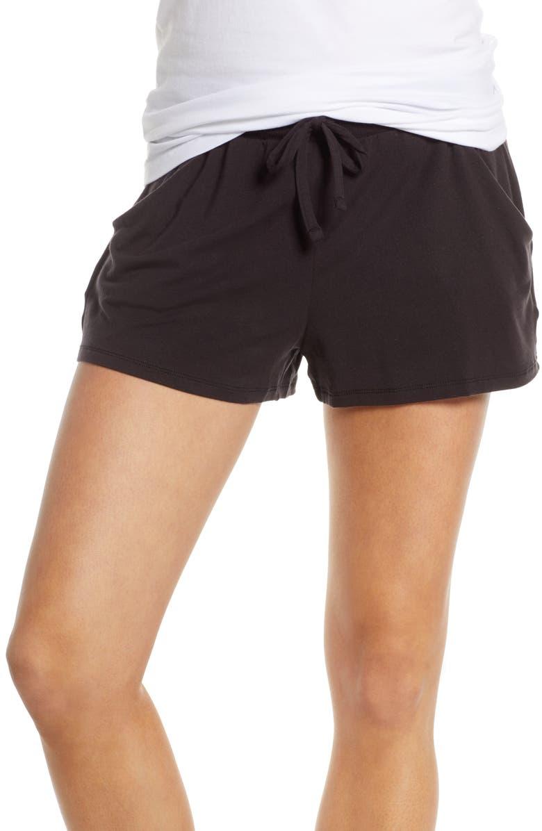 TOMMY JOHN Lounge Shorts, Main, color, 001