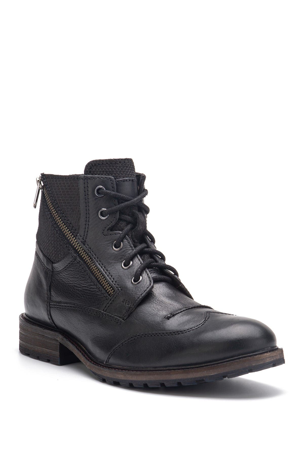 Image of Vintage Foundry Harrison Wingtip Leather Boot