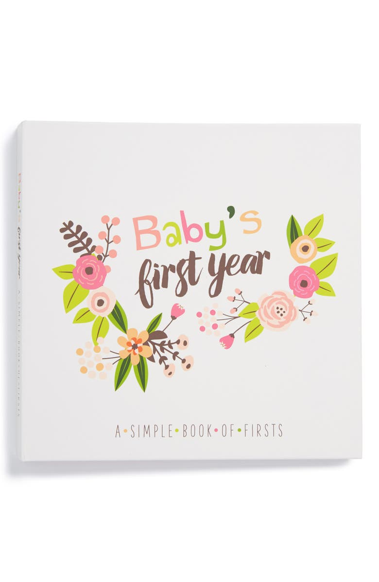 LUCY DARLING 'Baby's First Year' Memory Book, Main, color, PINK
