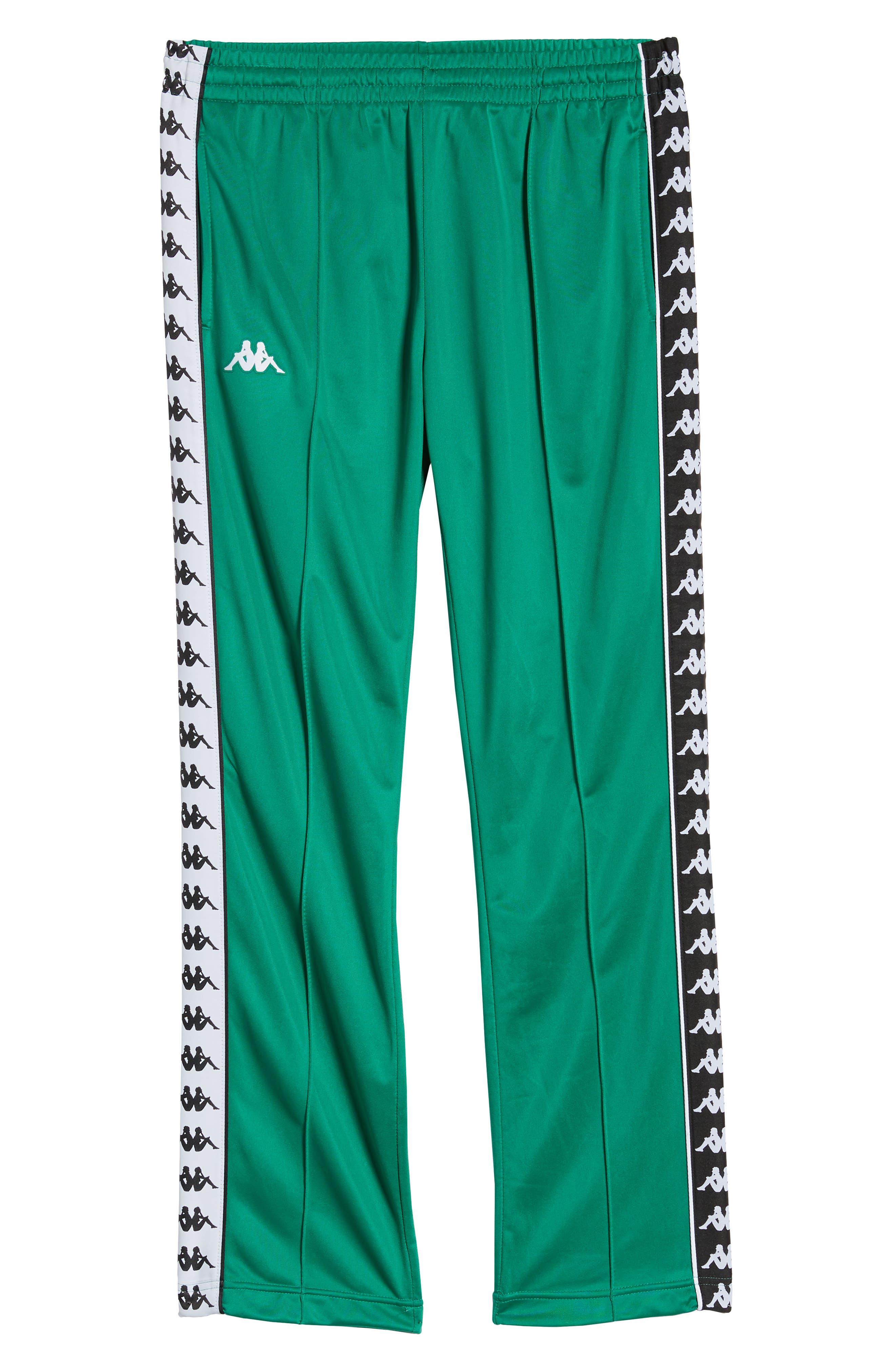 ,                             Active 222 Banda Astoriazz Slim Track Pants,                             Alternate thumbnail 7, color,                             GREEN/ BLACK/ WHITE