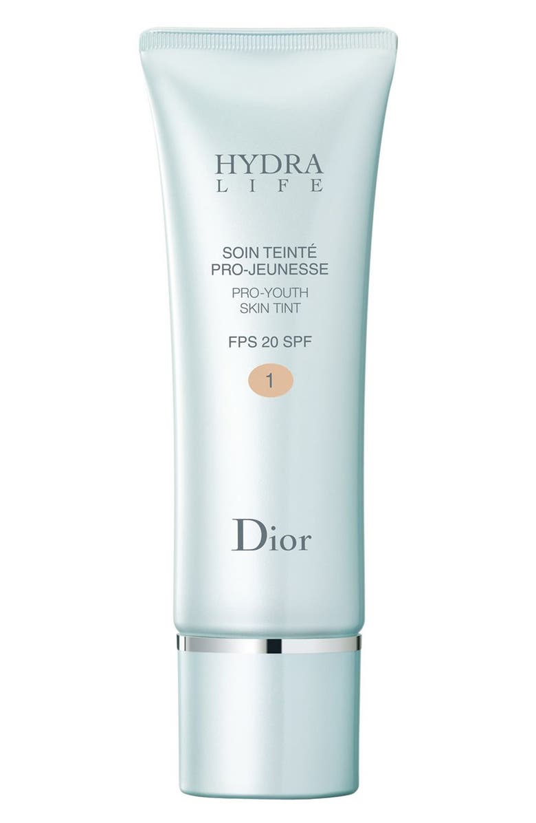DIOR 'Hydra Life' Pro-Youth Skin Tint SPF 20, Main, color, 001