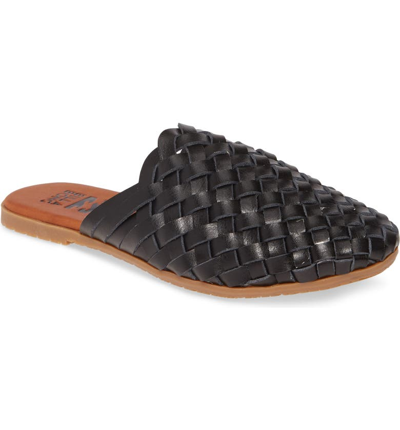 BILLABONG Granada Woven Mule, Main, color, BLACK