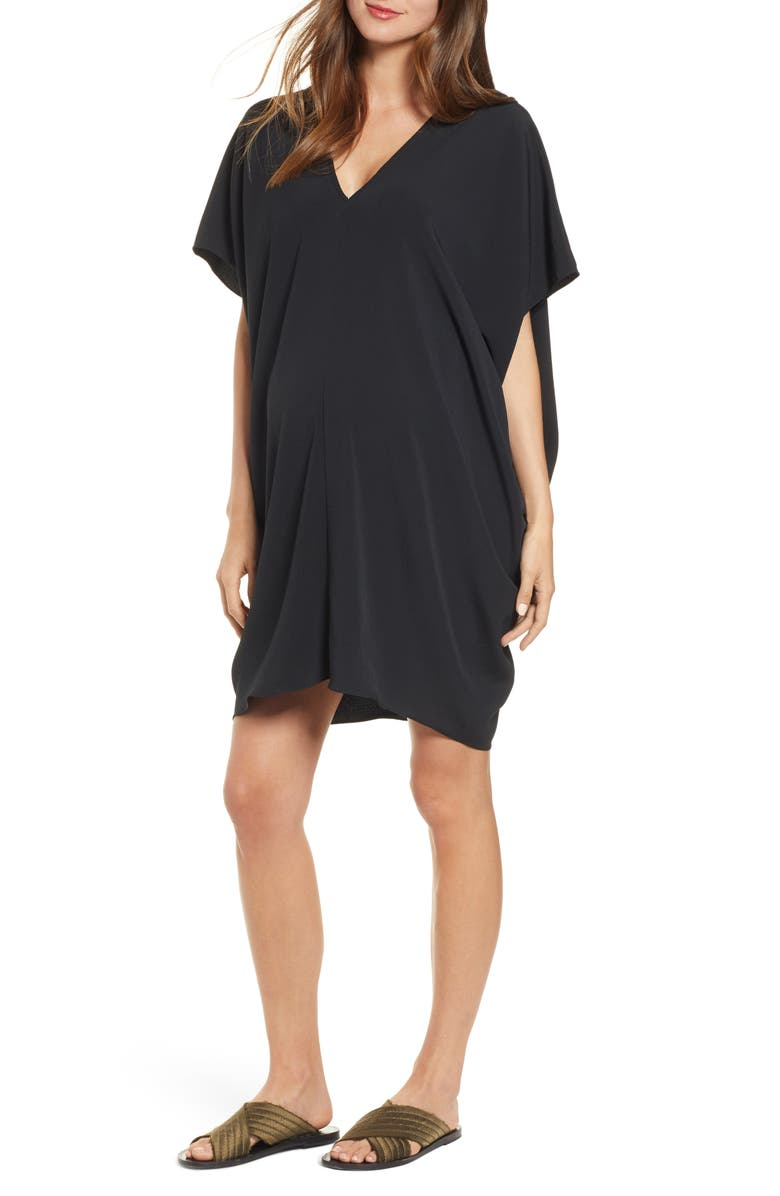 HATCH Slouch Dress, Main, color, 001