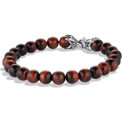 David Yurman Spiritual Beads Tigers Eye Bracelet