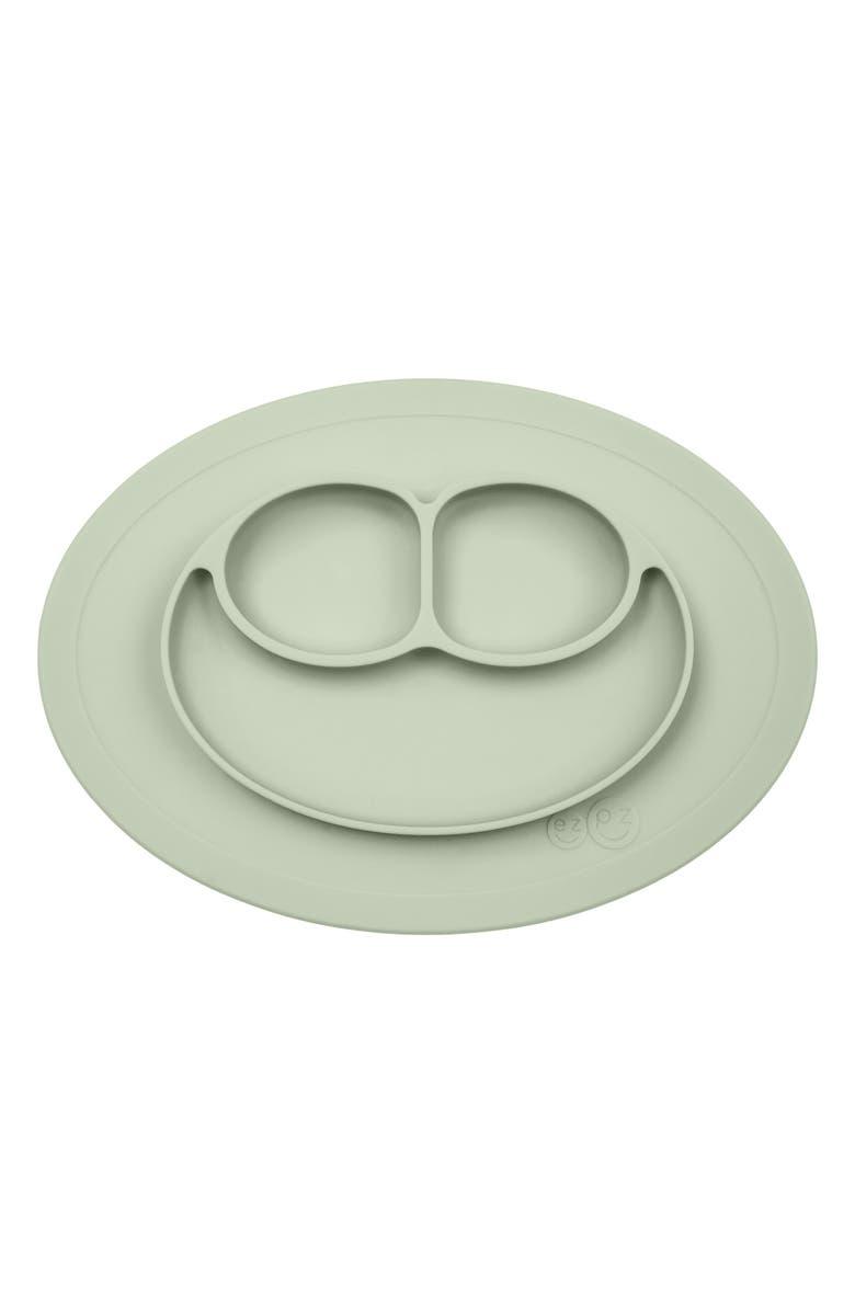 EZPZ 'Mini Mat' Silicone Feeding Mat, Main, color, SAGE