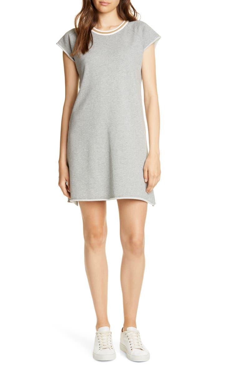 JOIE Jahina Ringer Neck Short Sleeve T-Shirt Dress, Main, color, 020