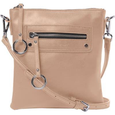 Urban Originals Huntress Vegan Leather Crossbody Bag - Brown