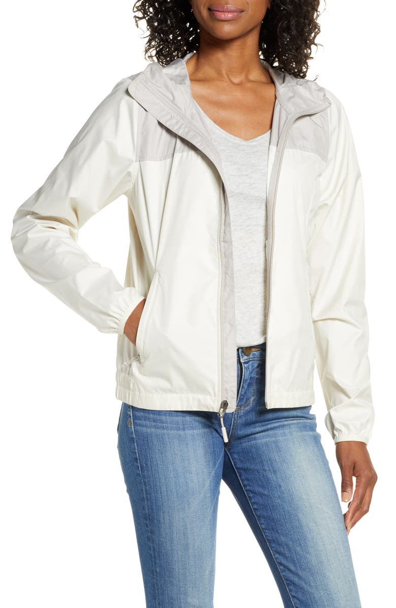THE NORTH FACE Cyclone WindWall<sup>®</sup> Jacket, Main, color, VINTAGE WHITE/ DOVE GREY