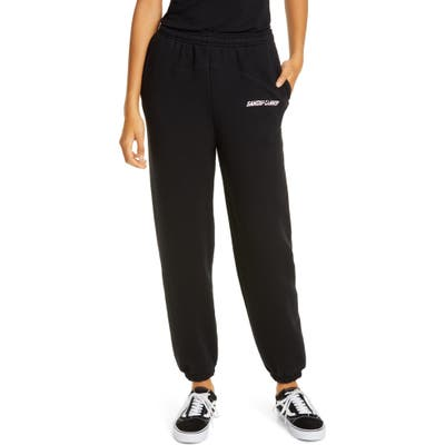 Sandy Liang Rosie Sweatpants, Black