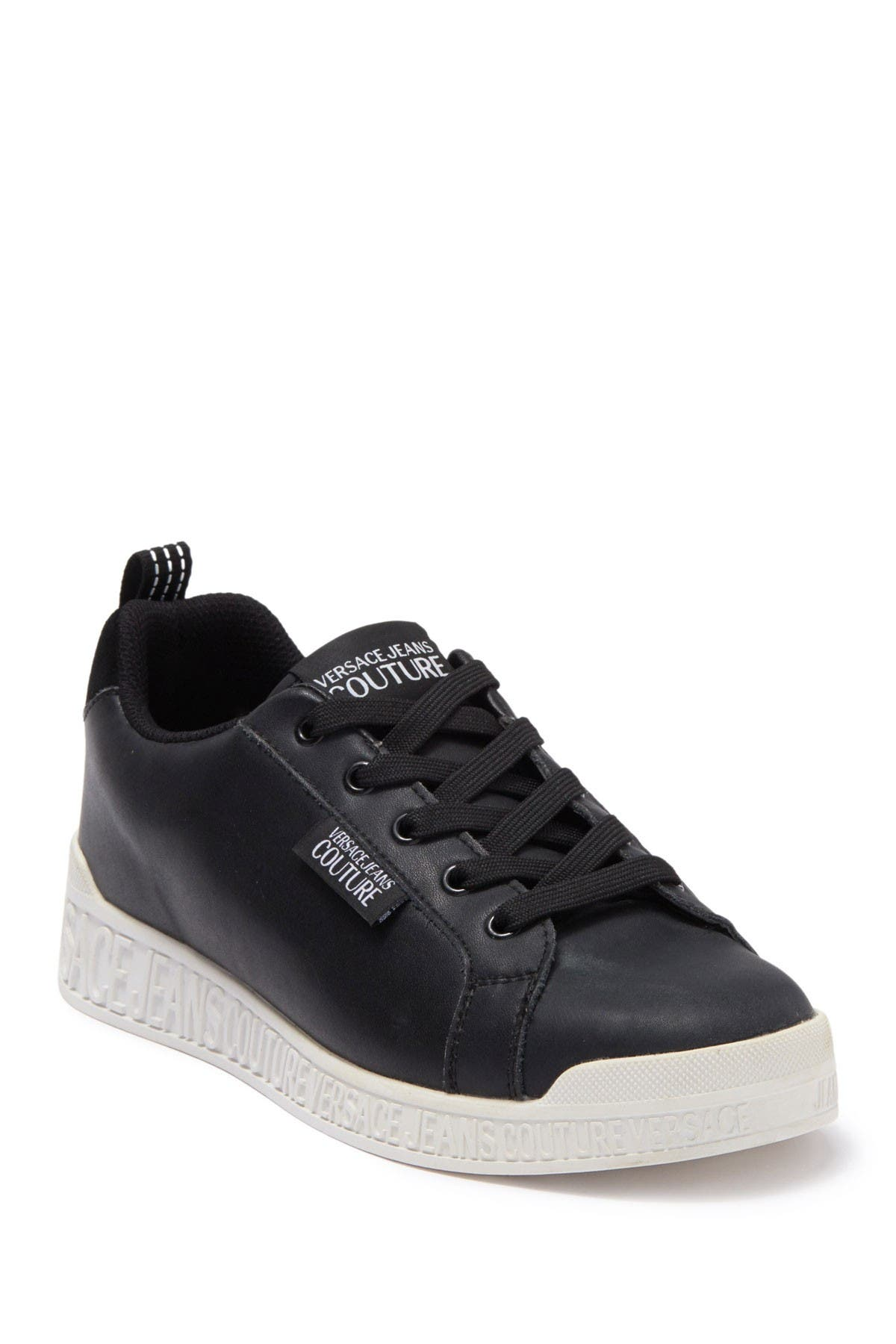 Image of Versace Jeans Leather Sneaker