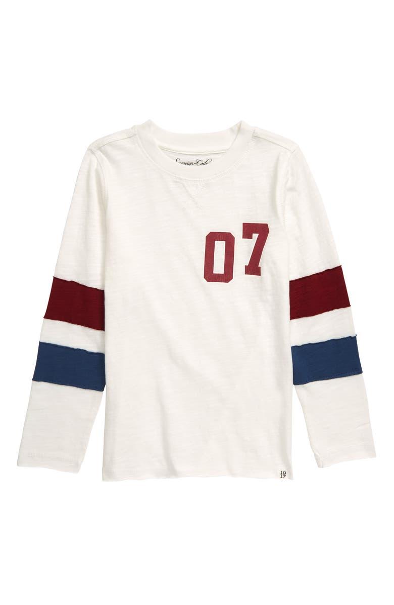 SOVEREIGN CODE Long Sleeve T-Shirt, Main, color, CREAM