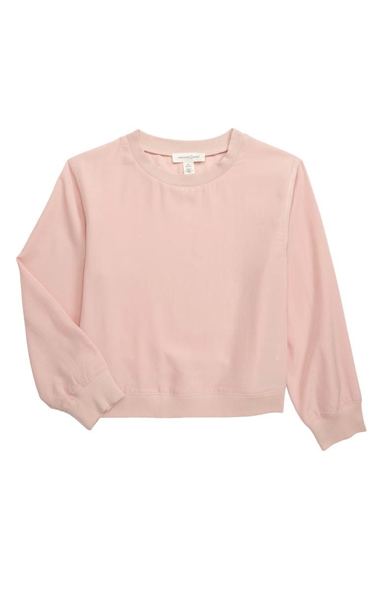 Satin Sweatshirt by Treasure & Bond