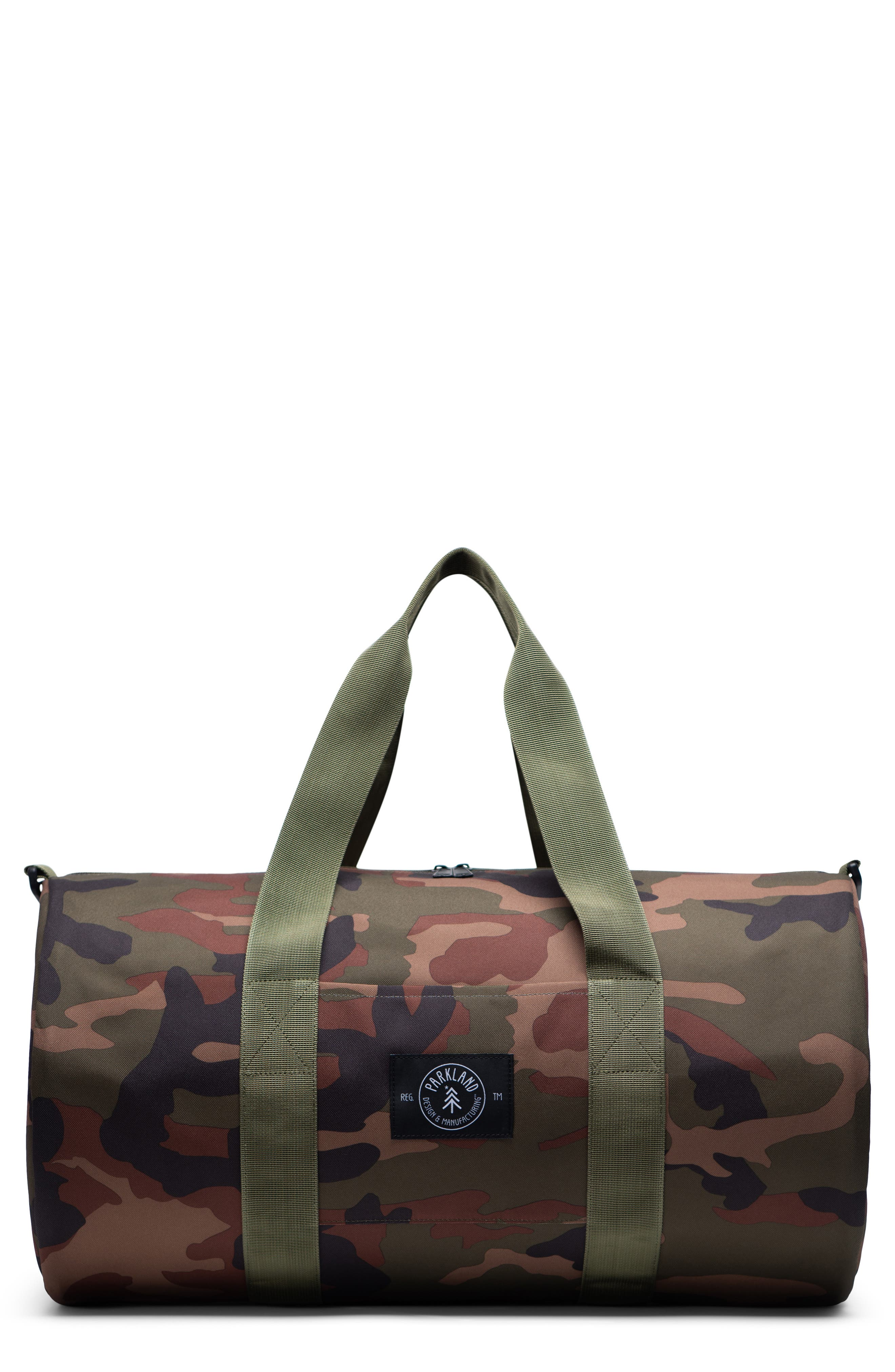 The Lookout Large Duffle Bag, Main, color, CLASSIC CAMO