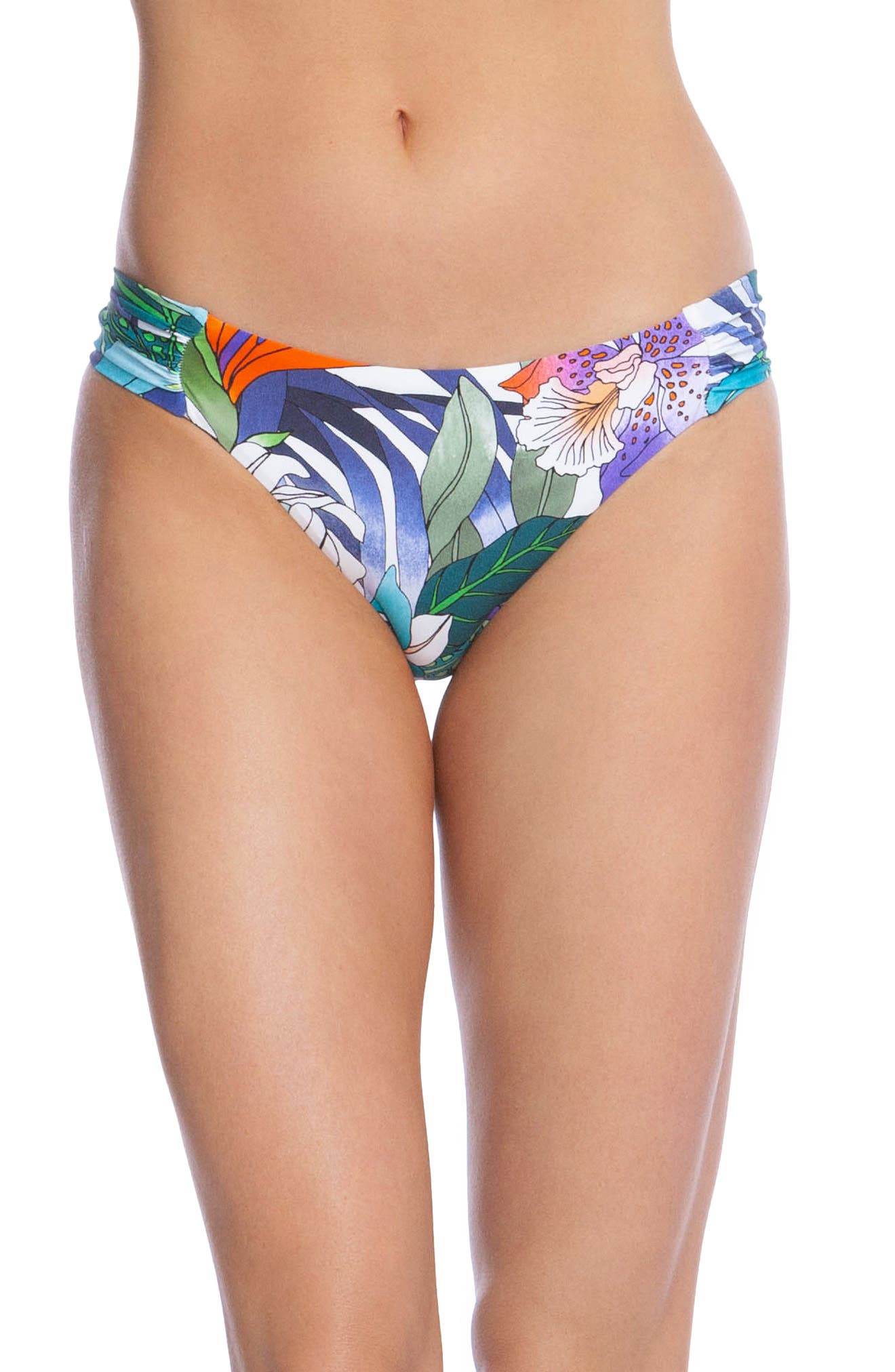 Trina Turk Amazonia Hipster Bikini Bottoms, White