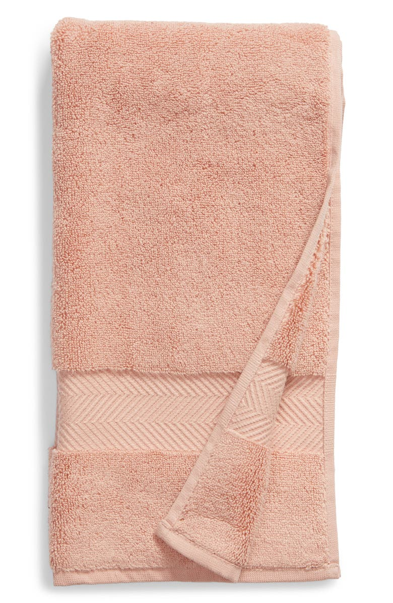 NORDSTROM AT HOME Hydrocotton Hand Towel, Main, color, PINK MISTY