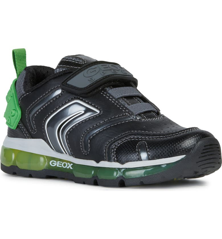 GEOX Android Light-Up Sneaker, Main, color, 002