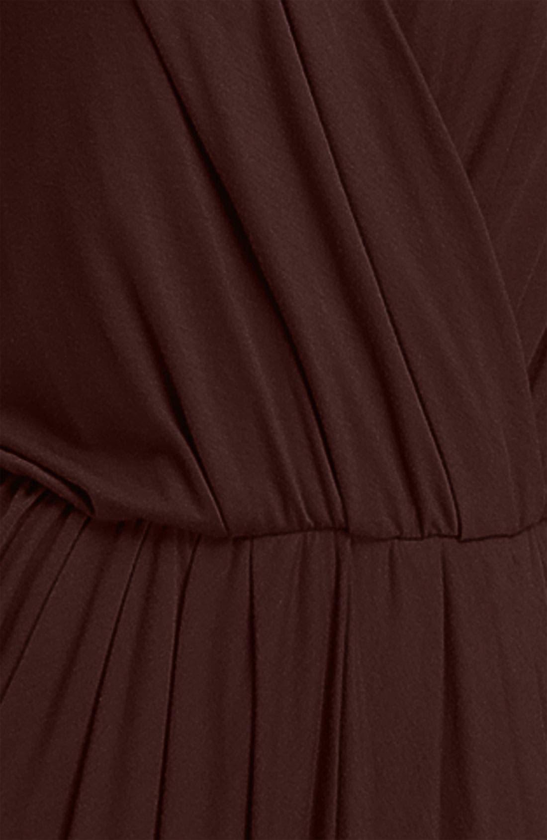 ,                             Faux Wrap Pleated Dress,                             Alternate thumbnail 5, color,                             200