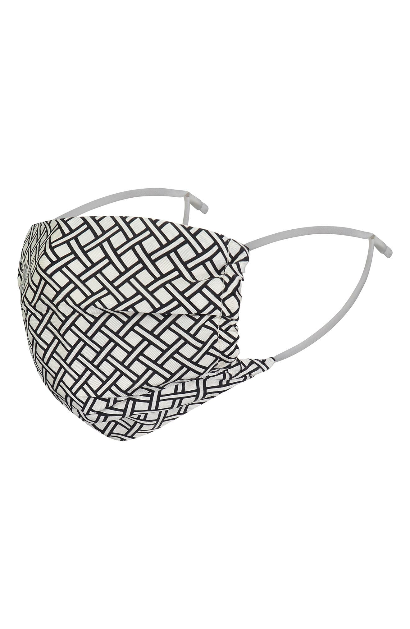 Checker Adult Face Mask