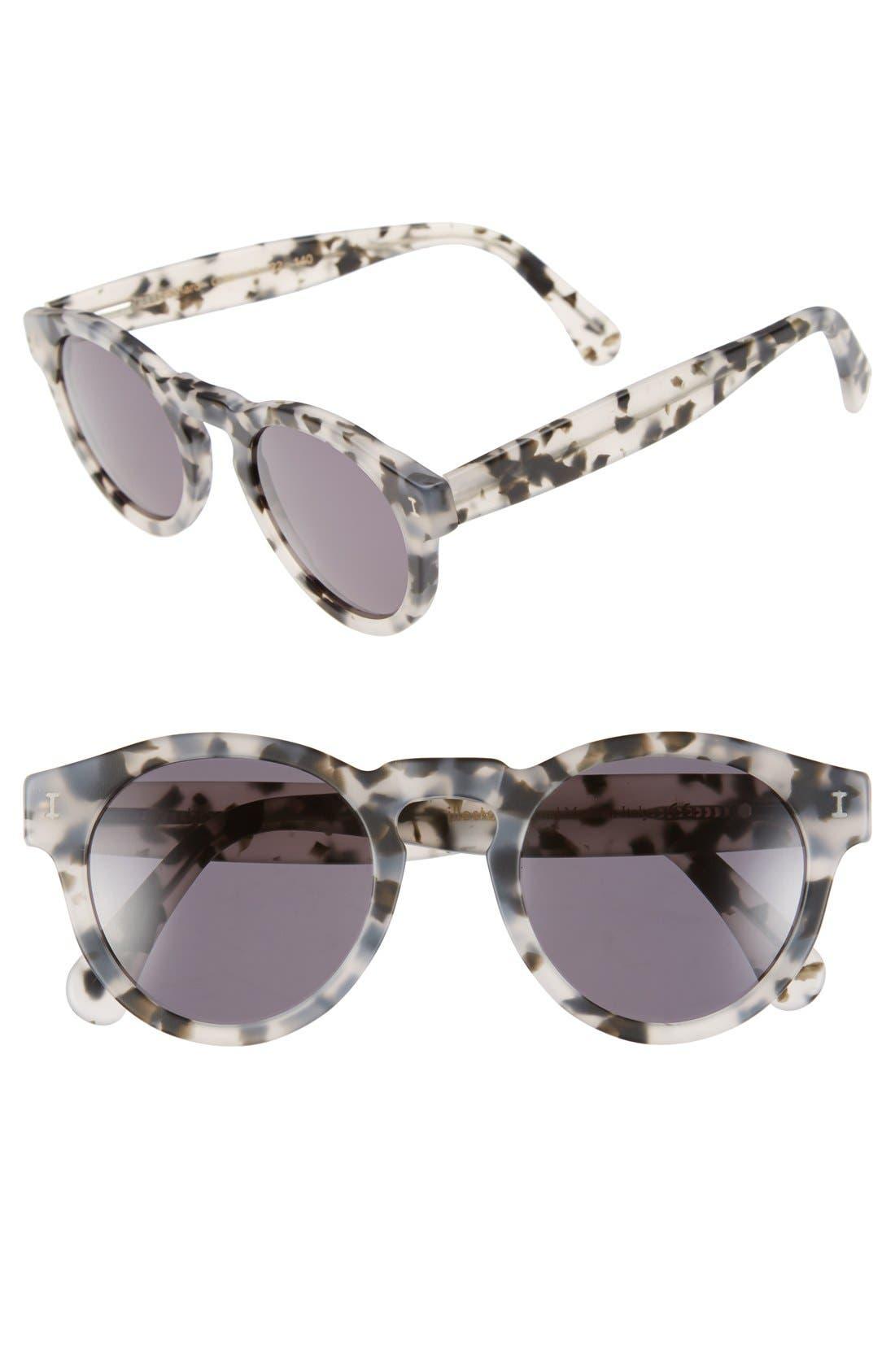 ,                             'Leonard' 47mm Sunglasses,                             Main thumbnail 57, color,                             112