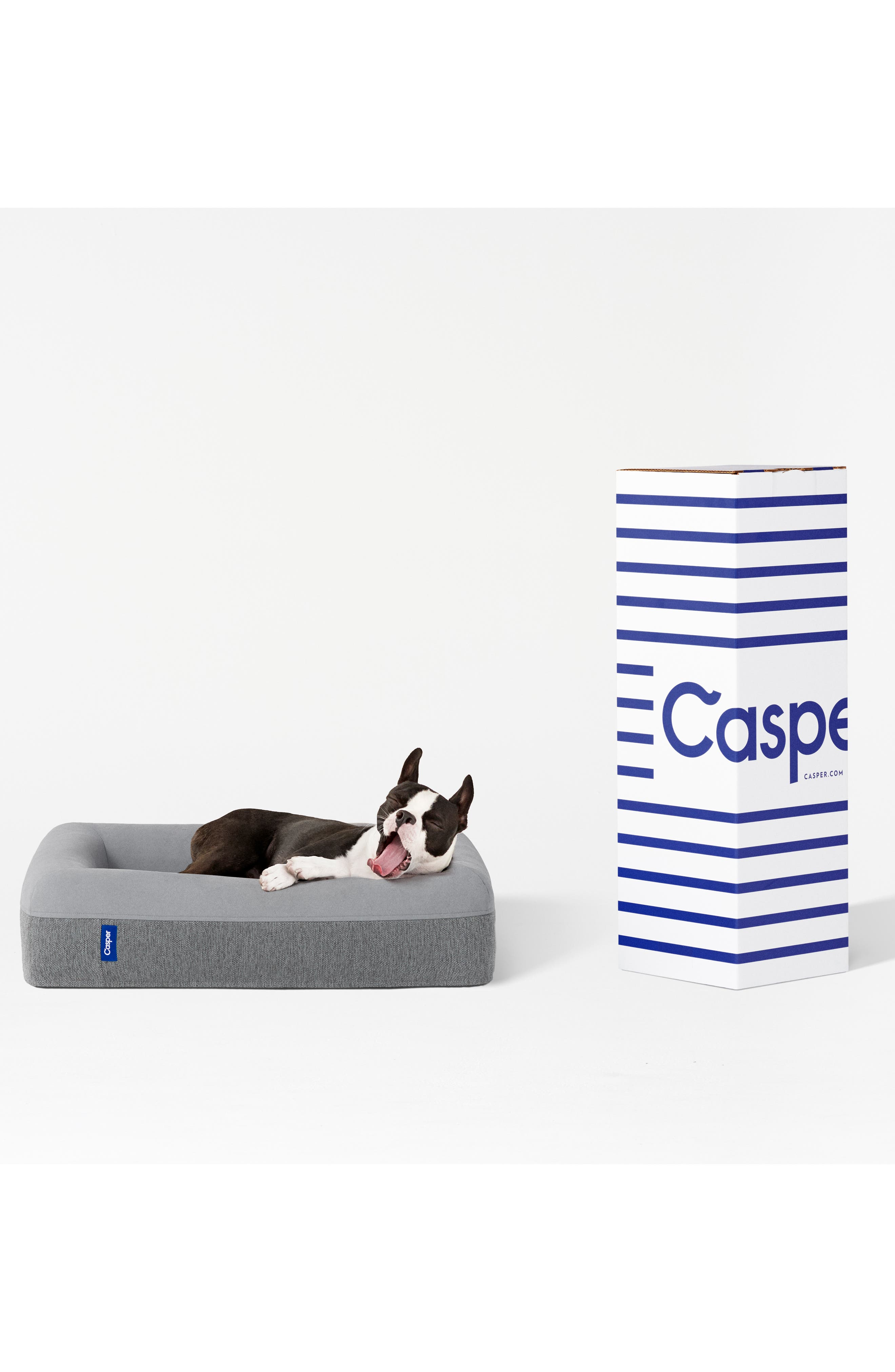 Casper Dog Bed Size Small  Grey