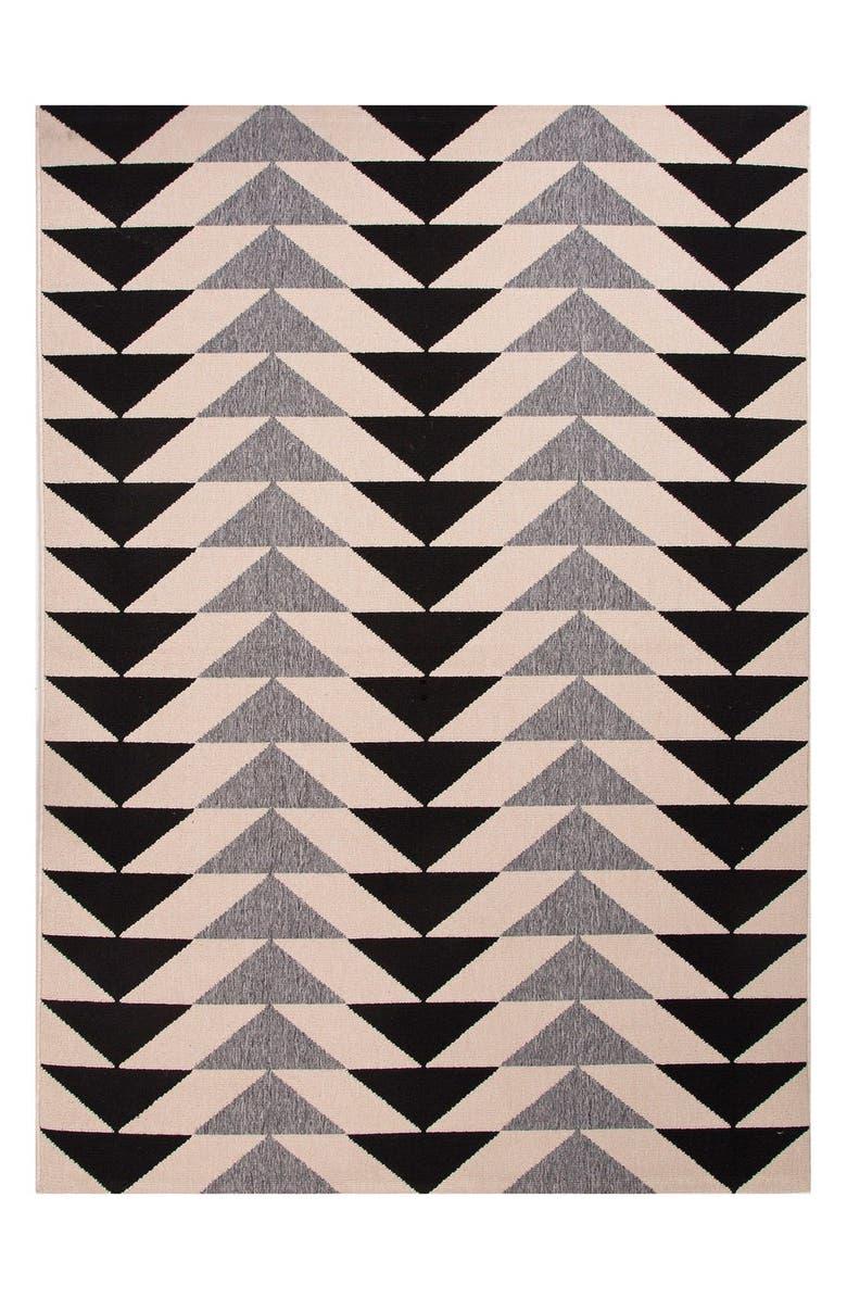 JAIPUR 'Arrows' Indoor/Outdoor Rug, Main, color, 900