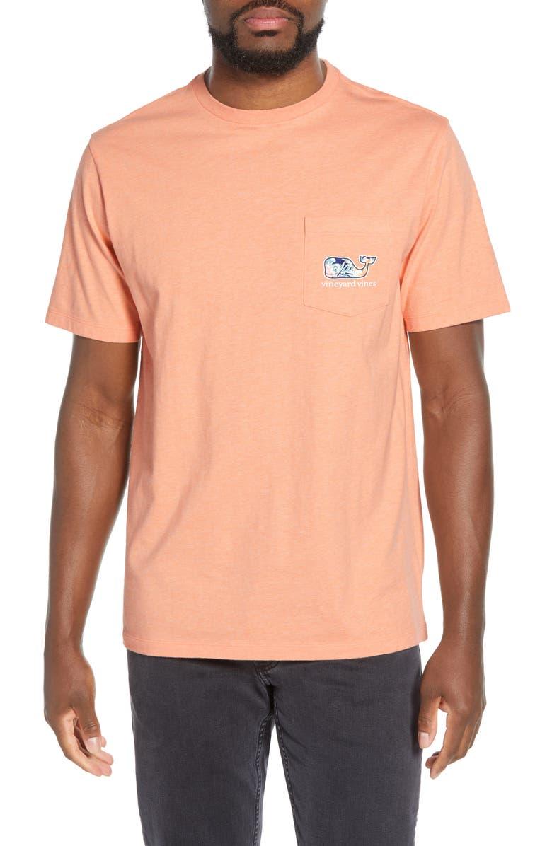 Guana Floral Pocket T-Shirt