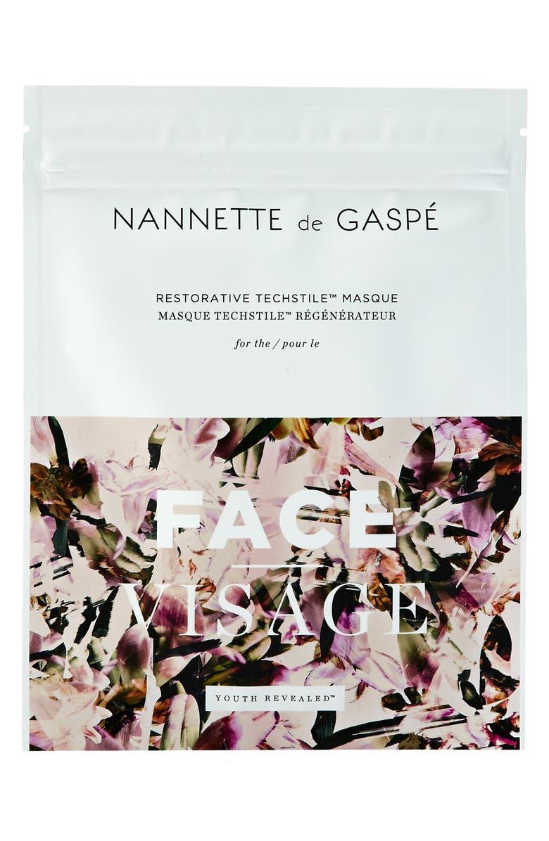 NANNETTE DE GASPE SPACE.NK.apothecary Nannette de Gaspé Youth Revealed Restorative Techstile<sup>™</sup> Masque, Main, color, NO COLOR
