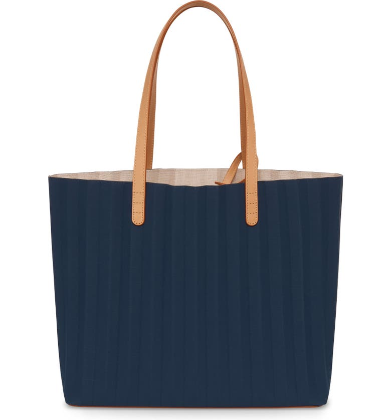 MANSUR GAVRIEL Pleated Waxed Canvas Tote, Main, color, 460