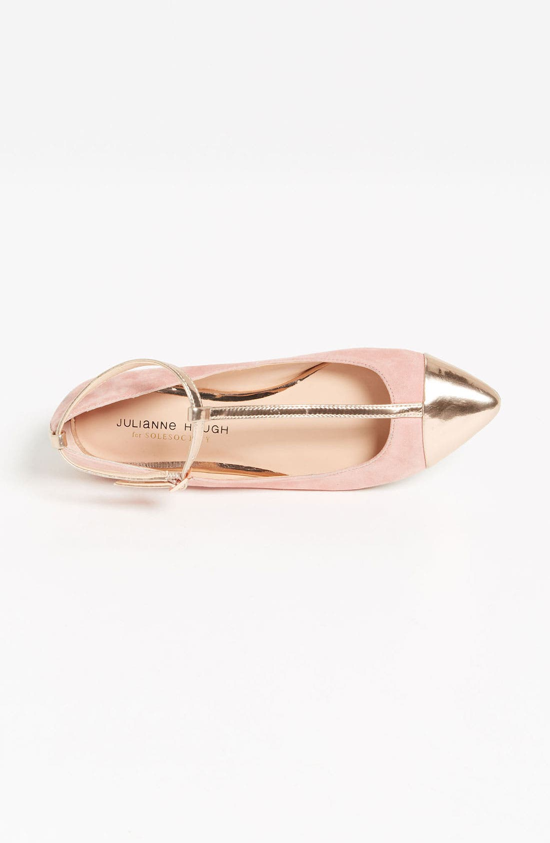 ,                             Julianne Hough for Sole Society 'Addy' Flat,                             Alternate thumbnail 41, color,                             680