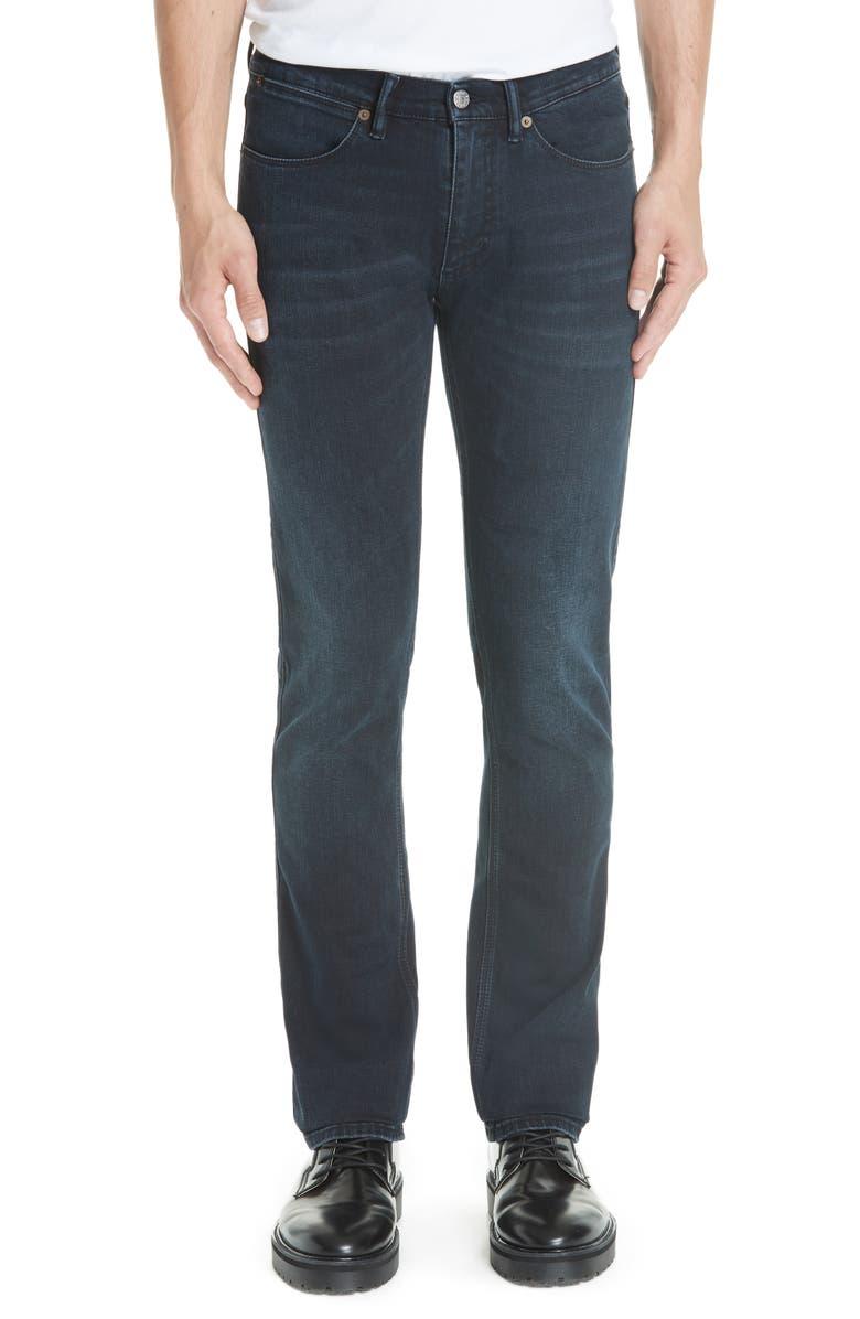 ACNE STUDIOS Max Slim Fit Jeans, Main, color, BLUE