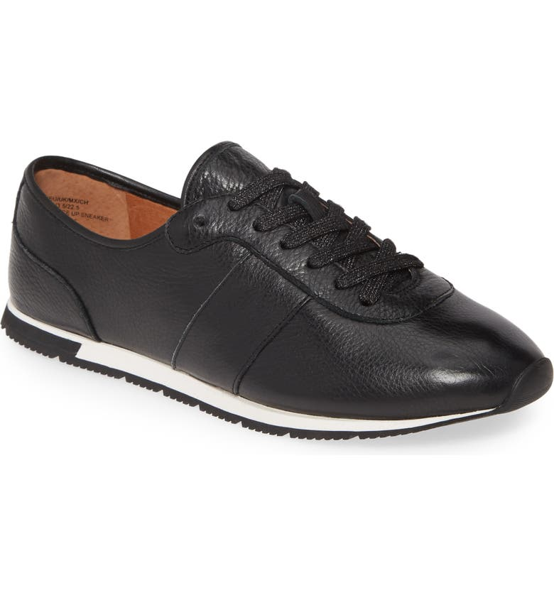 GENTLE SOULS BY KENNETH COLE Luca Lace-Up Sneaker, Main, color, BLACK LEATHER