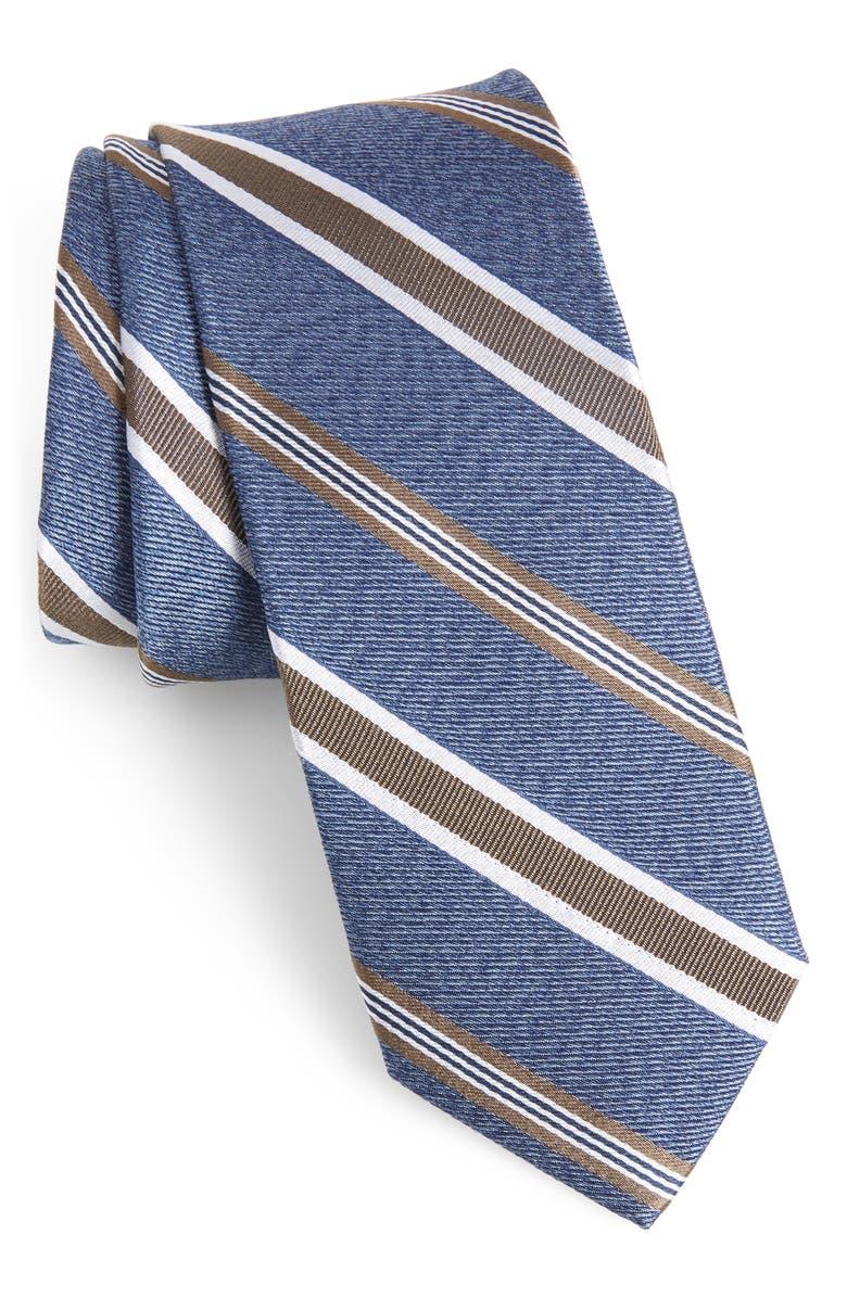 1901 Astible Stripe Silk Tie, Main, color, 260