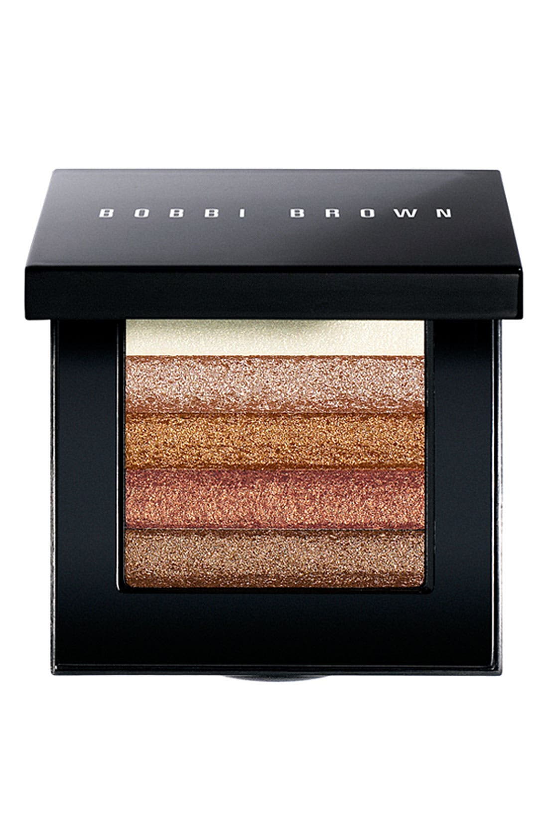 Bronze Shimmer Brick Compact, Main, color, NO COLOR