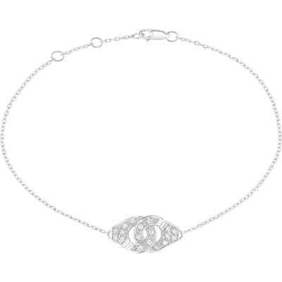 Dinh Van Menottes Diamond Trace Chain Bracelet
